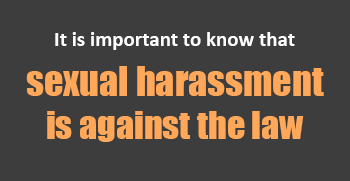 Sexual harassment laws in canada